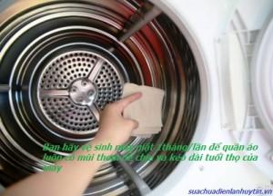 Hướng dẫn vệ sinh máy giặt  nội địa của Nhật