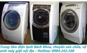 sửa máy giặt nội địa Nhật uy tín