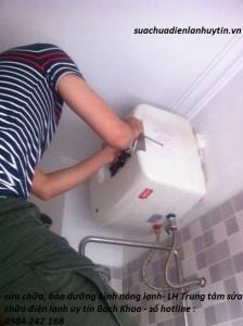 Sửa bình nóng lạnh ARISTON tại Hà Nội chuyên nghiệp