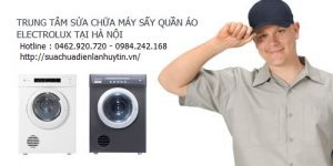 sua may say quan ao electrolux