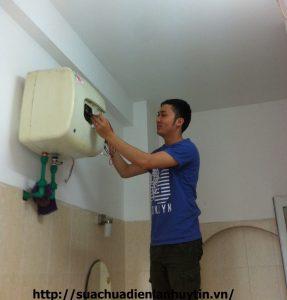 sửa chữa bình nóng lạnh 1