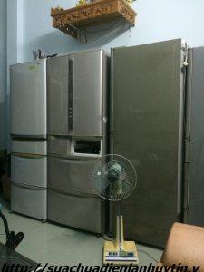 sửa tủ lạnh nội địa điện 110v